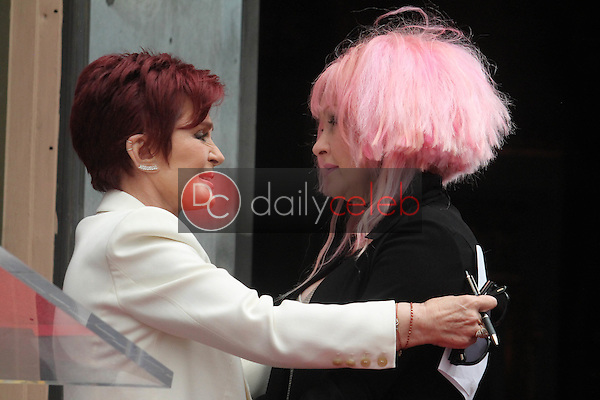 Sharon Osbourne, Cyndi Lauper<br />