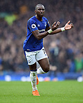 Yannick Bolasie of Everton during the premier league match at Goodison Park Stadium, Liverpool. Picture date 7th April 2018. Picture credit should read: Robin Parker/Sportimage