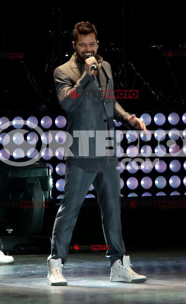 Puerto Rican pop star Ricky Martin overnight Expoforum concert as part of his world tour. <br /> (foto:Luis Gutierrez)