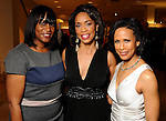 From left: Gail Brown, honoree Gina Gaston Elie and Angela Rae at the Houston Chronicle's Best Dressed announcement party at Neiman Marcus Wednesday Feb 01,2012. (Dave Rossman/For the Chronicle)