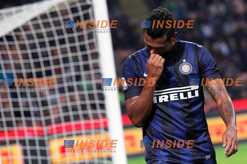 fredy Guarin Inter, <br /> Milano 05-10-2013<br /> Stadio Giuseppe Meazza <br /> Football Calcio 2013/2014 Serie A <br /> Inter - Roma<br /> Foto Marco Bertorello Insidefoto
