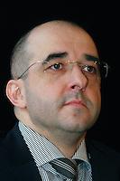 UNGARN, 13.01.2011, Budapest. Zoltan Kovacs, Staatssekretaer fuer Regierungskommunikation der Regierung Orban (Fidesz). | Zoltan Kovacs,.Minister of State for Government Communication in the Orban government (Fidesz)..© Martin Fejer/EST&OST