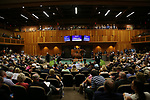 SARATOGA SPRINGS, NY- AUGUST 06: Scenes from Day 1 of the Fasig Tipton Saratoga Select Yearling Sale at the Humphrey S. Finney Sales Pavilion on August 6, 2018 in Saratoga Springs, New York. (Photo by Alex Evers/Eclipse Sportswire)