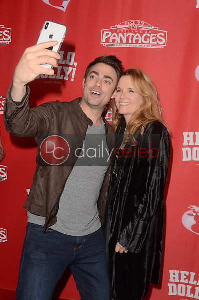 Jonathan Bennett, Lea Thompson<br /> at the Hello Dolly! Los Angeles Premiere, Pantages Theater, Hollywood, CA 01-30-19<br /> David Edwards/DailyCeleb.com 818-249-4998