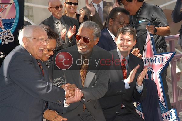 Morgan Freeman's star is unveiled