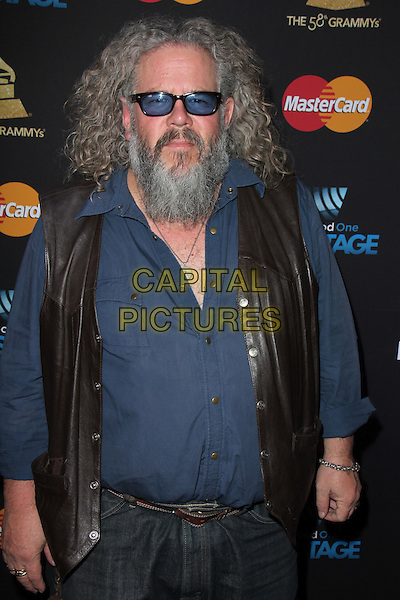 LOS ANGELES, CA - FEBRUARY 12: Mark Boone Junior at the 2016 Grammys Radio Row Day 1 presented by Westwood One, Staples Center, Los Angeles, California on February 12, 2016.   <br /> CAP/MPI/DE<br /> &copy;DE//MPI/Capital Pictures