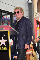 Sammy Haggar at the Hollywood Walk of Fame Star Ceremony honoring singer Adam Levine. Los Angeles, USA 10 February  2017<br /> Picture: Paul Smith/Featureflash/SilverHub 0208 004 5359 sales@silverhubmedia.com