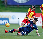 04.05.2018 Partick Thistle v Ross County: Alex Schalk tackles Ryan Edwards
