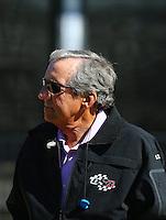 Feb 3, 2016; Chandler, AZ, USA; NHRA team owner Don Schumacher during pre season testing at Wild Horse Pass Motorsports Park. Mandatory Credit: Mark J. Rebilas-USA TODAY Sports
