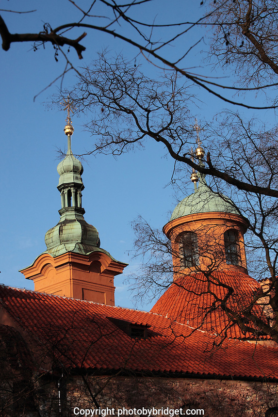 The Church on Petrin Hill, Prague Czech Republic