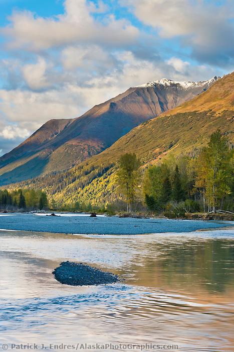 South fork, Kenai mountains, Chugach National Forest, Kenai Peninsula, southcentral, Alaska.