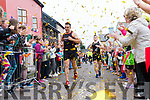 Shane Finn arriving in his hometown Dingle after running 24 marathons in 24 days in aid of Spina Bifida & Hydrocephalus Ireland.