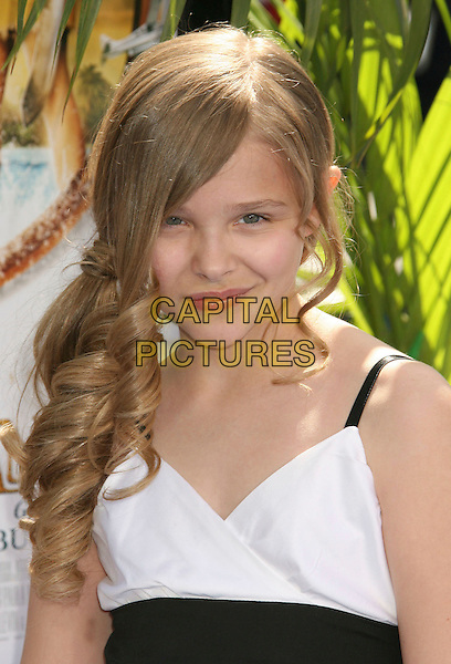 "CHLOE MORETZ .""Nim's Island"" World Premiere held at Grauman's Chinese Theatre, Hollywood, California, USA, 30 March 2008..portrait headshot  curled hair ringlets .CAP/ADM/RE.©Russ Elliot/Admedia/Capital PIctures"