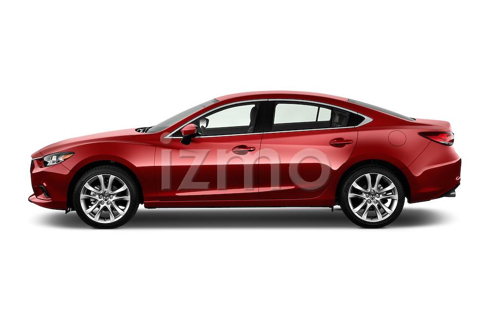 Driver side profile view of a 2014 Mazda Mazda6 i Touring Sedan