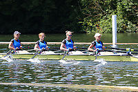 Race: 10  Event: Aspirational 4x<br /> Crew: 201  Club: Bremer Ruderverein (GER)<br /> <br /> Henley Women's Regatta 2018<br /> Friday<br /> <br /> To purchase this photo, or to see pricing information for Prints and Downloads, click the blue 'Add to Cart' button at the top-right of the page.