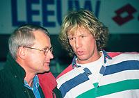 VOETBAL: HEERENVEEN: 1994, Foppe de Haan - Gert Jan Verbeek, ©foto Martin de Jong