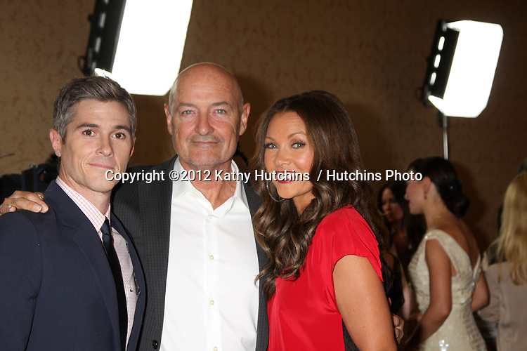 LOS ANGELES - JUL 27:  Dave Annable, Terry O'Quinn, Vanessa Williams arrives at the ABC TCA Party Summer 2012 at Beverly Hilton Hotel on July 27, 2012 in Beverly Hills, CA