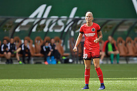 Portland, Oregon - Sunday May 29, 2016: Portland Thorns FC defender McKenzie Berryhill (20). The Portland Thorns play the Seattle Reign during a regular season NWSL match at Providence Park.