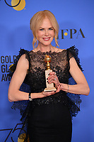 Nicole Kidman at the 75th Annual Golden Globe Awards at the Beverly Hilton Hotel, Beverly Hills, USA 07 Jan. 2018<br /> Picture: Paul Smith/Featureflash/SilverHub 0208 004 5359 sales@silverhubmedia.com