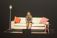 """SÃO PAULO,SP,25.10.2018 - SHOW-SP - A cantora Paula Fernandes durante apresentação da turnê """"Voz e Violão"""" no Teatro Bradesco, na região oeste da cidade de São Paulo, no bairro da Lapa nesta quinta-feira, 25. (Foto: Dorival Rosa/Brazil Photo Press)"""