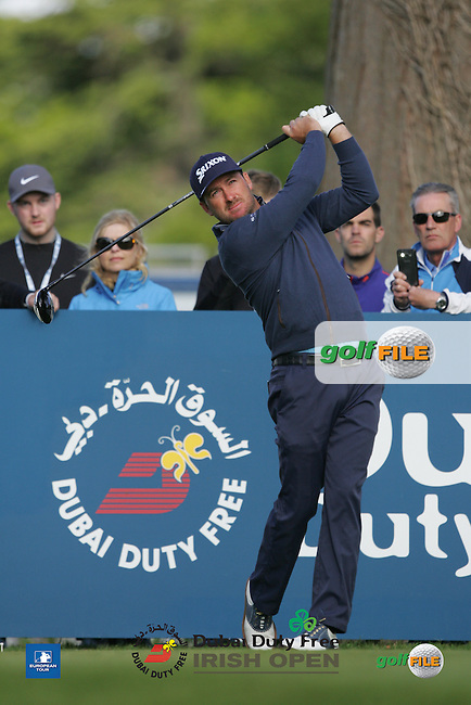 Graeme McDowell (NIR) during Wednesday's Pro-Am ahead of the 2016 Dubai Duty Free Irish Open Hosted by The Rory Foundation which is played at the K Club Golf Resort, Straffan, Co. Kildare, Ireland. 18/05/2016. Picture Golffile | TJ Caffrey.<br /> <br /> All photo usage must display a mandatory copyright credit as: &copy; Golffile | TJ Caffrey.