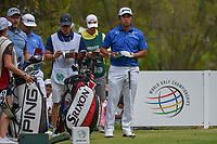 Hideki Matsuyama (JPN) looks over his tee shot on 18 during round 4 of the World Golf Championships, Mexico, Club De Golf Chapultepec, Mexico City, Mexico. 2/24/2019.<br /> Picture: Golffile | Ken Murray<br /> <br /> <br /> All photo usage must carry mandatory copyright credit (© Golffile | Ken Murray)