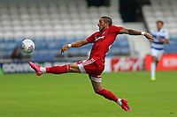 Anthony Knockaert of Fulham controls the ball during Queens Park Rangers vs Fulham, Sky Bet EFL Championship Football at the Kiyan Prince Foundation Stadium on 30th June 2020