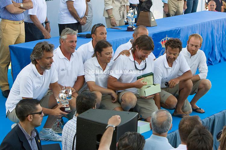 ITA4200 .AIRIS .SANDRO MONTEFUSCO .ROBERTO MONTI .X TROFEO S.M. LA REINA - 10 to 13 July 2008 - Real Club Náutico de Valencia, Valencia, España/Spain
