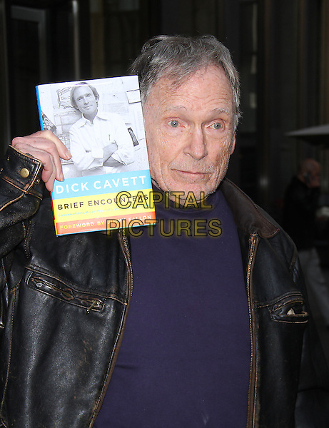 NEW YORK, NY - OCTOBER 20: Dick Cavett at SiriusXM Town Hall promoting new book Brief Encounters: Conversations, Magic Moments, and Assorted Hijinks on October 20, 2014 in New York City.  <br /> CAP/MPI/RW<br /> &copy;RW/ MediaPunch/Capital Pictures