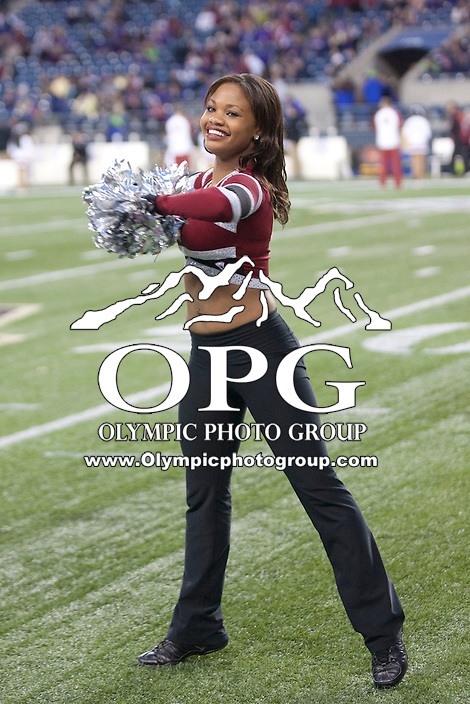 Nov  26, 2011:  Washington State Crimson dance team members entertained the fans during the game against Washington.  Washington defeated Washington State 38-21at Century Link Stadium in Seattle, Washington...