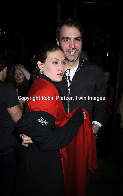 BethAnn Bonner and Ron Carlivati..at The One Life to Live Christmas party on December 11, 2008 at Prohibition in New York City. ....Robin Platzer, Twin Images