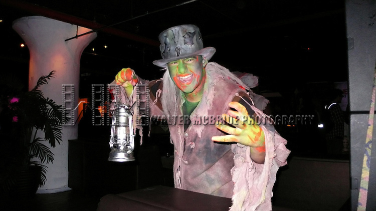 Cast member at the Media Preview and Party for 'Blood Manor' - New York City's Premier Haunted Attraction at 163 Varick Street in New York. Sept. 26, 2012