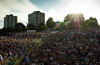 Murray Mound outside Court One<br /> <br /> Photographer Ashley Western/CameraSport<br /> <br /> Wimbledon Lawn Tennis Championships - Day 5 - friday 7th July 2017 -  All England Lawn Tennis and Croquet Club - Wimbledon - London - England<br /> <br /> World Copyright &not;&copy; 2017 CameraSport. All rights reserved. 43 Linden Ave. Countesthorpe. Leicester. England. LE8 5PG - Tel: +44 (0) 116 277 4147 - admin@camerasport.com - www.camerasport.com