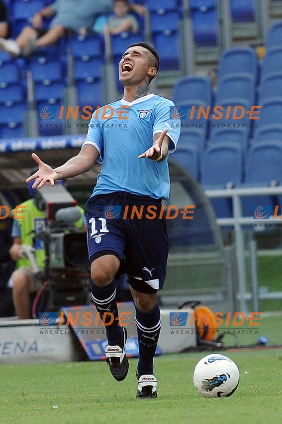 Francelino Matuzalem (Lazio).Roma, 18/9/2011 Stadio Olimpico.Football Calcio 2011/2012 .Lazio vs Genoa.Campionato di calcio Serie A.Foto Insidefoto Antonietta Baldassarre
