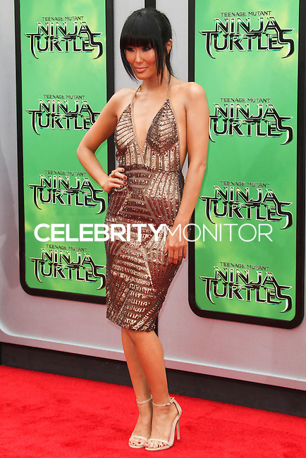 WESTWOOD, LOS ANGELES, CA, USA - AUGUST 03: Minae Noji at the Los Angeles Premiere Of Paramount Pictures' 'Teenage Mutant Ninja Turtles' held at Regency Village Theatre on August 3, 2014 in Westwood, Los Angeles, California, United States. (Photo by Celebrity Monitor)