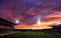 PICTURE BY VAUGHN RIDLEY/SWPIX.COM - Rugby League - Rugby League World Cup 2008 - England v New Zealand - Energy Australia Stadium, Newcastle, Australia - 08/11/08...Copyright - Simon Wilkinson - 07811267706...GV, General View, Sunset.
