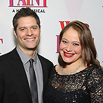 Tom Kitt and Rita Pietropinto attends the Broadway Opening Night Performance of 'War Paint' at the Nederlander Theatre on April 6, 2017 in New York City