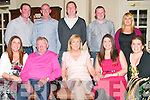 Birthday Party: Joan Herbert, Kilflynn celebrating her birthday with family at the Listowel Arms Hotel on Friday night last. Front: Michelle McKenna, Pat & Joan Herbert, Grainne Herbert & Siobhan O'Donoghue. Back : Mike McKenna, Paul O'Donoghue, Shane Herbert, Ian O'Carroll & Deidre Murphy.