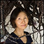 Ok Lee Jeong, Auroville Artist participating at Chennai Festival 2015 'Auroville, That's it'