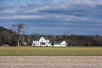 Farm house, Pocomoke, Maryland, USA