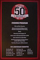 Men's Soccer 50th Anniversary