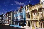 A082WF Buildings on the promenade Aldeburgh Suffolk England