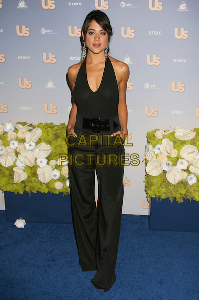 CAMILLE GUATY.US Weekly's Hot Hollywood 2007 held at Opera, Hollywood, California, USA..September 26th, 2007.full length wide belt trousers halterneck top hands in pockets wide leg.CAP/ADM/RE.©Russ Elliot/AdMedia/Capital Pictures.