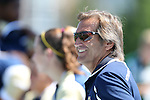 15 September 2013: Notre Dame head coach Randy Waldrum. The University of North Carolina Tar Heels hosted the University of Notre Dame Fighting Irish at Fetzer Field in Chapel Hill, NC in a 2013 NCAA Division I Women's Soccer match. Notre Dame won the game 1-0.