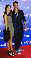 Gary Dourdan, Nyla, Red carpet at The Premiere of Sparkle at Graumans Chinese Theatre in Hollywood California.. /NOrtePHOTO.COM<br />