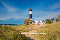 64795-01006 Big Sable Point Lighthouse on Lake Michigan, Mason County, Ludington, MI