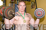 STRONG MAN: Gary Eager from Tralee who took first place at the Irish Powerlifting Championships in Limerick last weekend.
