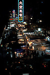 Hong Kong Market at Night