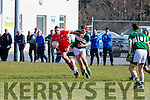 Waterville Anthony Kennedy Listry in their KCL D2 clash in Listry on Sunday