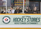 Sudbury, ON - Apr 23 2019 - St. Albert Slash vs Saskatoon Stars during the 2019 ESSO Cup at the Gerry McCrory Countryside Sports Complex in Sudbury, Ontario, Canada (Photo: Alex D'Addese/Hockey Canada)